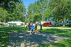 Basketball at Red Run Campground